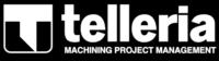 Logotipo Telleria negativo